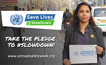 Share your support to #SlowDown with  social media graphics