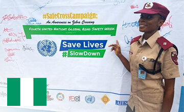 Activity Feature: Action and Safe Crossings in Lagos, Nigeria
