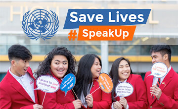 The #SpeakUp for #RoadSafety theme is now live - join the campaign