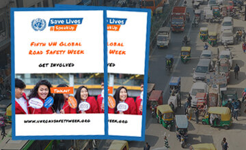 Download the 'Get Involved' toolkit and #SpeakUp for #RoadSafety