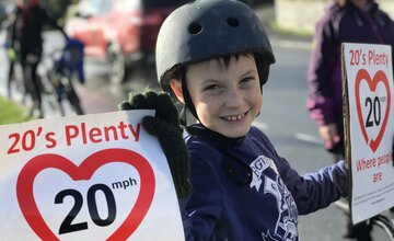 Wales: Committing to #Love20 by setting a national urban speed limit